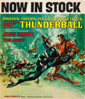 "Movie Posters:James Bond, Thunderball (United Artists, 1965). Record Store Display (12"" X14"").. ..."