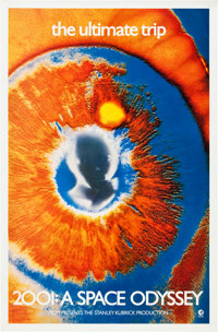 """2001: A Space Odyssey (MGM, 1969). One Sheet (27"""" X 41"""")"""