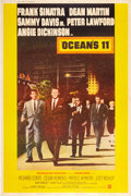 "Movie Posters:Crime, Ocean's 11 (Warner Brothers, 1960). Poster (40"" X 60"") Style Z....."