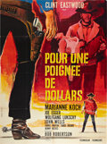 """Movie Posters:Western, A Fistful of Dollars (PEA, 1965). French Grande (47"""" X 63"""").. ..."""