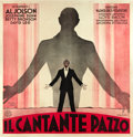 "Movie Posters:Musical, The Singing Fool (Warner Brothers, 1927). Italian Billboard (79"" X81"").. ..."