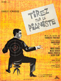 "Movie Posters:Crime, Shoot the Piano Player (Cocinor, 1960). French Grande (47"" X 63"")....."