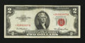 Error Notes:Shifted Third Printing, Fr. 1509* $2 1953 Legal Tender Star Note. Very Fine.. ...