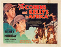 """Movie Posters:Comedy, The Cohens and Kellys in Africa (Universal, 1930). Half Sheet (22""""X 28"""").. ..."""