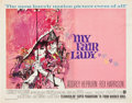 """Movie Posters:Musical, My Fair Lady (Warner Brothers, 1964). Half Sheet (22"""" X 28"""").. ..."""