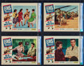 "Movie Posters:Elvis Presley, G.I. Blues (Paramount, 1960). CGC Graded Lobby Card Set of 8 (11"" X14"").. ... (Total: 8 Items)"