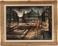 L'Opera, Paris by Regis (Count) de Bouvier de Cachard (French, born 1929)