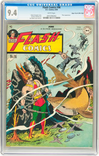 Flash Comics #96 Mile High pedigree (DC, 1948) CGC NM 9.4 White pages