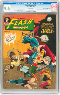 Flash Comics #98 Mile High pedigree (DC, 1948) CGC NM+ 9.6 White pages