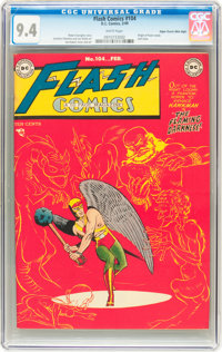 Flash Comics #104 Mile High pedigree (DC, 1949) CGC NM 9.4 White pages