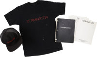 The Terminator Script Draft and Production Memorabilia