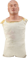 Movie/TV Memorabilia:Props, Tom and Bari Burman Nip/Tuck Prop Male Surgical Torso ofJulian McMahon....