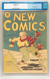 New Comics #1 (DC, 1935) CGC FN/VF 7.0 Off-white pages