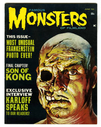 Famous Monsters of Filmland #23 (Warren, 1963) Condition: VF/NM