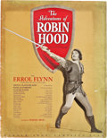 """Movie Posters:Swashbuckler, The Adventures of Robin Hood (Warner Brothers, 1938). Pressbook (35 Pages, 17"""" X 22"""").. ..."""