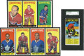 Hockey Cards:Lots, 1964-65 Topps Hockey Partial Set (56/110) With A Dozen HighNumbers....