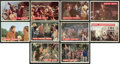 Non-Sport Cards:Sets, 1956 Topps Davy Crockett-Orange (79/80) and Green (77/80) Near SetPair. ...