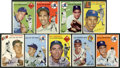 Baseball Cards:Lots, 1954 Topps Baseball Collection (45) With Williams! ...