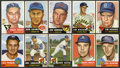 Baseball Cards:Lots, 1953 Topps Baseball Collection (18) With High Numbers. ...
