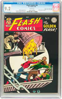 Flash Comics #95 Mile High pedigree (DC, 1948) CGC NM- 9.2 White pages