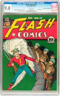 Golden Age (1938-1955):Superhero, Flash Comics #12 Mile High pedigree (DC, 1940) CGC NM/MT 9.8 Whitepages....