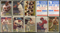 Baseball Cards:Lots, 1957 Topps Baseball Collection (34) With HoFers, High #s andContest Cards! ...