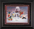 Boxing Collectibles:Autographs, Muhammad Ali, Bugs Bunny, Daffy Duck and Friends Limited EditionSigned Hand Painted Cel #295/350 Original Art (Warner Bros., ...