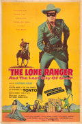 "Movie Posters:Western, The Lone Ranger and the Lost City of Gold (United Artists, 1958).40"" X 60"".. ..."