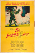 """Movie Posters:Science Fiction, The Invisible Boy (MGM, 1957). Poster (40"""" X 60"""").. ..."""