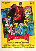 "Movie Posters:Action, Batman (20th Century Fox, 1966). Italian 4 - Foglio (55"" X 78"")....."