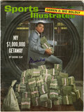 """Boxing Collectibles:Autographs, Muhammad Ali Signed """"Sports Illustrated"""" Magazine...."""