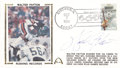 Football Collectibles:Others, Walter Payton Signed First Day Cover....