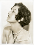 "Movie Posters:Miscellaneous, Joan Crawford by Ruth Harriet Louise (MGM, Late 1920s). PortraitPhoto (10"" X 13"").. ..."