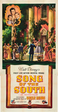 "Movie Posters:Animated, Song of the South (RKO, 1946). Three Sheet (41"" X 81"").. ..."