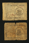 Colonial Notes:Continental Congress Issues, Continental Currency November 29, 1775 $1 Very Good.. ContinentalCurrency May 9, 1776 $1 Fine.. ... (Total: 2 notes)