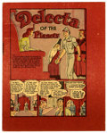 Golden Age (1938-1955):Science Fiction, Fawcett Miniatures - Delecta of the Planets (Fawcett, 1946)Condition: VF....