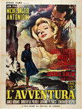 "Movie Posters:Drama, L'Avventura (Cino del Duca, 1961). French Grande (47"" X 63"").. ..."