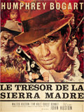 "Movie Posters:Drama, The Treasure of the Sierra Madre (Warner Brothers, R-1962). FrenchGrande (47"" X 63"").. ..."