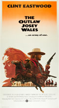 "Movie Posters:Western, The Outlaw Josey Wales (Warner Brothers, 1976). Three Sheet (41"" X 81"").. ..."