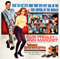 "Movie Posters:Elvis Presley, Viva Las Vegas (MGM, 1964). Six Sheet (81"" X 81"").. ..."