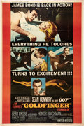 "Movie Posters:James Bond, Goldfinger (United Artists, 1964). Poster (40"" X 60"").. ..."