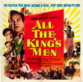 "Movie Posters:Academy Award Winners, All the King's Men (Columbia, 1949). Six Sheet (81"" X 81"").. ..."