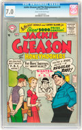 Silver Age (1956-1969):Humor, Jackie Gleason and the Honeymooners #2 (DC, 1956) CGC FN/VF 7.0 Cream to off-white pages....