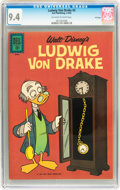 Silver Age (1956-1969):Cartoon Character, Ludwig Von Drake #3 File Copy (Dell, 1962) CGC NM 9.4 Off-white to white pages....