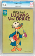 Silver Age (1956-1969):Cartoon Character, Ludwig Von Drake #4 File Copy (Dell, 1962) CGC NM 9.4 Cream to off-white pages....