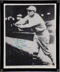 Autographs:Photos, 1950's Ty Cobb Signed Photograph....