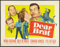 "Dear Brat (Paramount, 1951). Half Sheets (2) (22"" X 28"") Styles A and B. Comedy. ... (Total: 2 Items)"