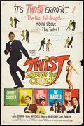 "Movie Posters:Rock and Roll, Twist Around the Clock (Columbia, 1961). One Sheet (27"" X 41""). Rock and Roll.. ..."