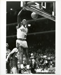 Basketball Collectibles:Photos, Michael Jordan Signed Photograph - Vintage Autograph....