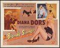 "Movie Posters:Bad Girl, Blonde Sinner (Allied Artists, 1956). Half Sheet (22"" X 28"") StyleB. Bad Girl.. ..."